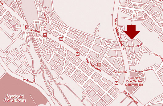 mappa via saredo 52 - Roma
